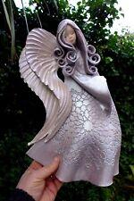 ANGELO in ceramica da appendere ARTE fatto a mano realizzato a mano BELLISSIMI COLORI Fattoria shop 06-03