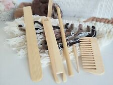 Weaving Tools Kit for Loom Diy Tapestry Craft Knitting Machine Supplies Handmade
