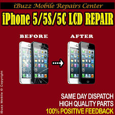 Apple iPhone 5 5C 5S LCD GLASS SCREEN TOUCH REPLACEMENT REPAIR SERVICE
