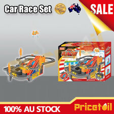Toys & Hobbies Car Race Track Set Racing Car Game Battery Operated With Music Kids Toy Set Gift Non-Ironing