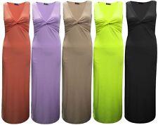 Full Length V Neck Party Sleeveless Dresses for Women