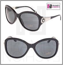 e99389cb06cb Versace Butterfly 4237 Black Silver Crystal Medusa Sunglasses Ve4237ba Women
