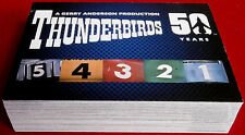 THUNDERBIRDS 50 Years - COMPLETE BASE SET of 54 cards - Unstoppable 2015