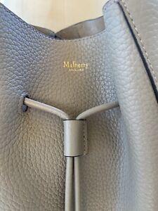 MULBERRY England MILLIE Crossbody Grey Pebbled leather EUC