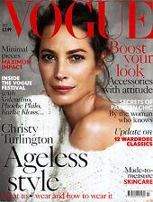 VOGUE UK July 2014 CHRISTY TURLINGTON Karlie Kloss DREE HEMMINGWAY @Excellent@