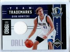 2011/12 PANINI LEAF LIMITED DIRK NOWITZKI GAME/WORN MATERIAL 82/99