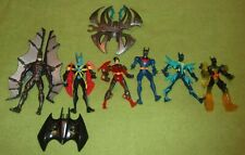 Vintage Batman Action Figure Lot Batman Beyond Sonar Robin DC Comics Knight