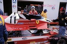 Carlos Reutemann Ferrari 312 T3 Canadian Grand Prix 1978 Photograph 1
