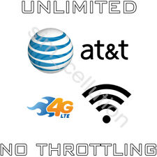 AT&T Unlimited 4G LTE No Contract Data Plan $99 Monthly Hotspot Tablet Modem