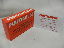 """CLASSIC ENGINE BUILDERS RED .001""""-.007"""" PLASTIGAUGE Precision Clearance Gauges"""