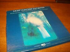 LIGHT CONCERT FAVORITES VARIOUS COMPOSERS 3-ALBUM BOX SET