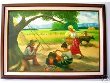 Harvest by Caguia Art Philippines Oil Painting