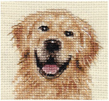 GOLDEN RETRIEVER dog  ~ Complete counted cross stitch kit