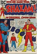 Shazam #1 1973 1st Appearence Captain Marvel since Golden Age