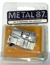 METAL87/22 - KIT IN METALLO BIANCO –  MERCEDES 170S CABRIOLET