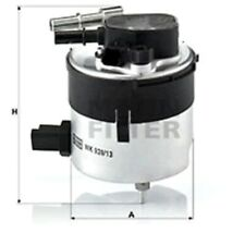 Mann Fuel Filter Inline For Ford Focus 1.6 TDCi