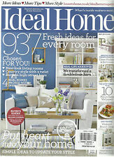 IDEAL HOME, MAY, 2014  ( 937 FRESH IDEAS FOR EVERY ROOM * PUT HEART INTO YOUR HO