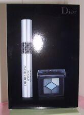 DIORSHOW Iconic Overcurl Mascara 090 Over Black Mini EyeShadow Palette Bleu De P