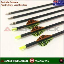 ARCHQUICK Carbon Fiber Arrow SP500 Compound bow Recurve Bow Hunting 12pcs
