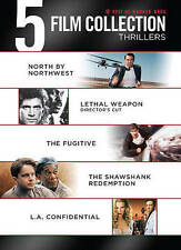 North by Northwest, Shawshank, LA Confidential, Lethal Weapon, The Fugitive DVD