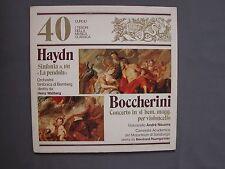 """LP 12"""" 33 rpm 1982 Nº 40 I TESORI DELLA MUSICA CLASSICA  HAYDN BOCCHERINI TMC-40"""
