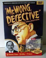Mr. Wong Detective 1938-40-The Complete Collection-3 DVDs-6 Films--Boris Karloff