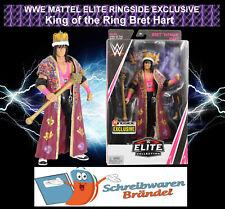 WWE Mattel Elite Ringside Exclusive BRET HART - King of the Ring - Wrestling