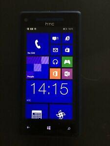 HTC Windows Phone 8X - 16GB - Blue (Unlocked) Smartphone