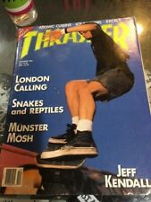Thrasher Skateboard Magazine December 1989 Jeff Kendall Jimmy Acosta 12/89 Dec