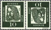 BRD (BR.Deutschland) K1 postfrisch 1961 Bedeutende Deutsche