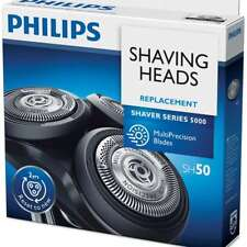 Philips Series 5000 Shaver Replacement Heads Shaving Heads and Blades SH50 NEW