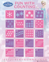 Disney Frozen - Fun With Counting Mini POSTER 40x50cm NEW * math learning aid