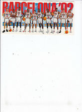"1992 Skybox Barcelona ""Dream Team"" 3-Card Set"