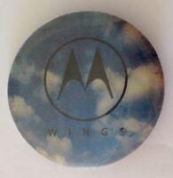 Motorola Wings Mobile Phone Hologram Button Badge Pin Authentic Vintage (N12)