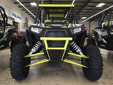 Polaris RZR XP1000/4 900 1000S Lime Squeeze Front  Bumper w/ BLACK Skid Plate