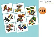 Power Rangers Dino Charge Tattoos 32 Tattoos 16 Perforations Party Supplies