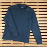 Mens Sweater Polo Ralph Lauren Pullover Size M Blue Zip
