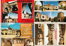 Lot 4 cartes postales DORDOGNE MONPAZIER 1