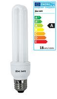 Energy Saving Light Bulbs Lamp 11W 15W 18W E14 E27 ES Edison Screw 2U CFL
