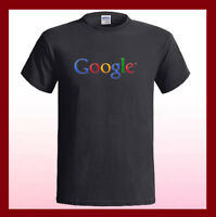 GOOGLE Logo Web Internet Search Machine NEW Men's Black T-Shirt S M L XL 2XL 3XL