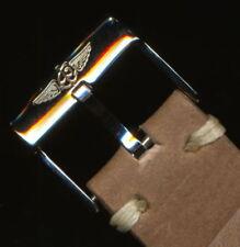 Véritable Lourd Boeuf Cuir MB Sangle 20mm @ Pattes & Véritable Breitling Boucle