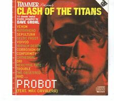 (GR775) Clash Of The Titans, 13 tracks various artists - Metal Hammer CD
