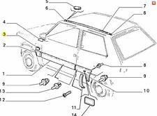 Fiat Panda 141a 1980 2002   Rubber Wing Grommet  4424639