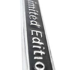 Fit For A4L A6L Q5 Car Sticker Chrome 3D Emblem Badge Decal Limited Edition Logo