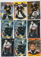 (21) card Kirk McLean mixed lot, Vancouver Canucks legend
