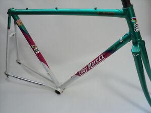 Vintage 80s EDDY MERCKX STRADA Team STUTTGART frame set rahmen corsa