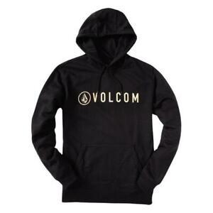 VOLCOM - HEADER PULLOVER HOOD - BLACK