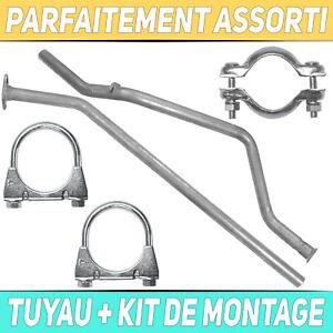 Tuyau d'échappement Silencieux Peugeot 307 1.4 Break
