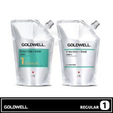1 REGULAR GOLDWELL STRUCTURE+SHINE AGENT 1/2 Softening Neutralizing Cream