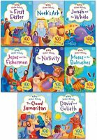 Miles Kelly My Bible Sticker Activity and Stories Collection 8 Books Set Pack